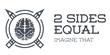 2 Sides Equal Logo