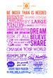 2 Sides Equal Manifesto Poster