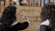 21GO recreates scene depicting Versailles' Hall of Mirrors with King Louis XIV and Saint-Gobain founder Jean Baptiste Colbert, who created the mirrors for the great hall.
