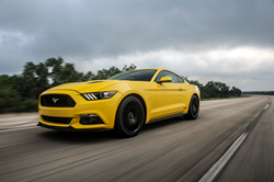 207.9 mph Hennessey Ford Mustang Shelby Roush Hellcat Corvette Top Speed