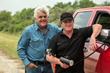 Jay Leno and John Hennessey 207.9 mph Ford Mustang Test