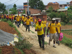 A team of Scientology Volunteer Ministers arrive in the Kavrepalanchowk  district of Nepal this week to provide medical care along with protection from the elements for those left homeless by the recent series of strong earthquakes and aftershocks.