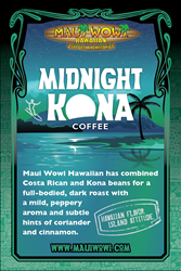 Midnight Kona Coffee Limited Time Offer