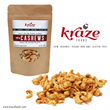 Kraze Foods Spicy Cashews bring the heat!