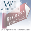 Whitehouse Labs to Expand Raw Material & Technical Services...