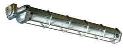 Explosion Proof Low Profile LED Light Fixture that produces 6,760 lumens of light