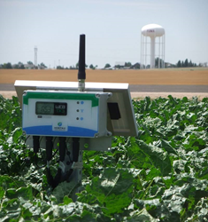 Hortau's smart irrigation management system.