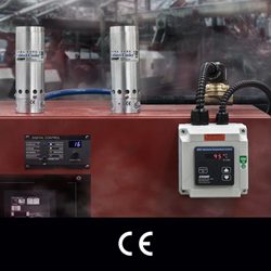 EXAIR's new ETC (Electronic Temperature Control) for dual Cabinet Cooler Systems
