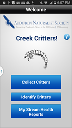 ANS Creek Critters Screen Shot