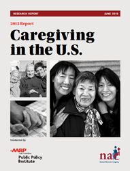 Thumbnail - Caregiving in the U.S. 2015 Report