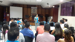 Stetson Law professor Luz Nagle recently taught and presented in Colombia.