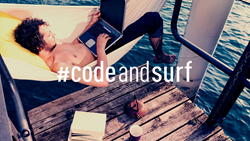 Learn to code online while surfing
