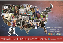 Women Veterans Campaign Graphic