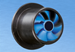 The First Self-lubricating Plastic Bearing for Continuous High Rotational Speeds