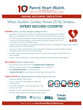 Parent Heart Watch Recognizes National CPR and AED Awareness Week June 1-7, 2015; Save Lives Through Preparation, Recognition, and Immediate Action