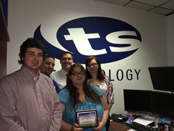 TS Tech Team Wins Local Chamber Award