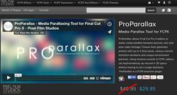 Pixel Film Studios ProParallax Plugin.