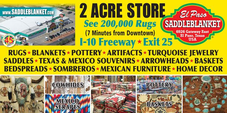 El Paso Saddleblanket 2 Acre Outlet Showroom6926 Gateway East, El Paso TX  79915