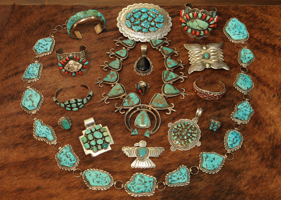 Charming Turquoise U0026 Sterling Silver Jewelry Available El Paso Saddleblanket Outlet  Showroom Will ...