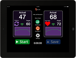 Beneufit's pdFIT™ Workout Profile Screen for Parkinson's Disease. The Beneufit platform empowers people to manage their chronic disease through exercise.