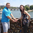 Love Lock Couple Fights back on the Removal of Pad Locks from World-Famous Bridge