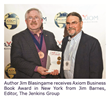 Jim Blasingame's The Age of the Customer Wins Axiom Award