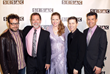 Pictured left to right: Christophe Beck, SESAC's Dennis Lord and Erin Collins, Danny Lux and Paul Buckley