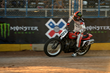 Monster Energy's Brad Baker Takes Bronze in the Inaugural Flat Track event at X Games Austin 2015
