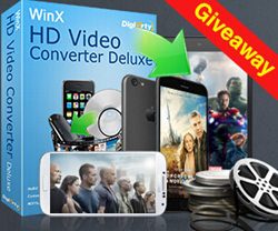 HD Video Converter Giveaway on GOTD