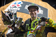 Monster Energy's Bryce Hudson Takes the Silver Medal in Moto X Step Up at X Games Austin 2015
