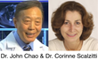 Dr. John Chao and Dr. Corinne Scalzitti