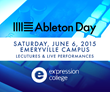 Ex'pression College to present Lectures and Live Performances at Ableton Day