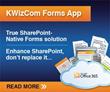 KWizCom Unveils KWizCom Forms App for Office 365