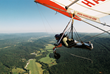 Hang gliding off of Lookout Mountain