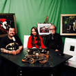 "Staten Island artists Chris Spollen and his wife Jing Bao have been featured on the Guy Cormier Show ""Stories,"" Time Warner Channel 34 and Fios Channel 35."