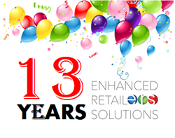 Enhanced Retail Solutions To Celebrate 13 Years of Service