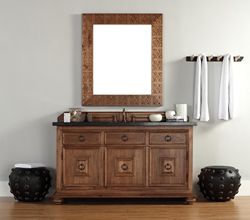 Mykonos 60 Single Bathroom Vanity 550-V60S-CIN from James Martin Furniture