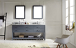 Caroline Estate 72 Double Vanity In Gray from Virtu