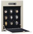 Orbita Wallsafe With Storage Bin Beige Enamel 9 Watch Winder W21702