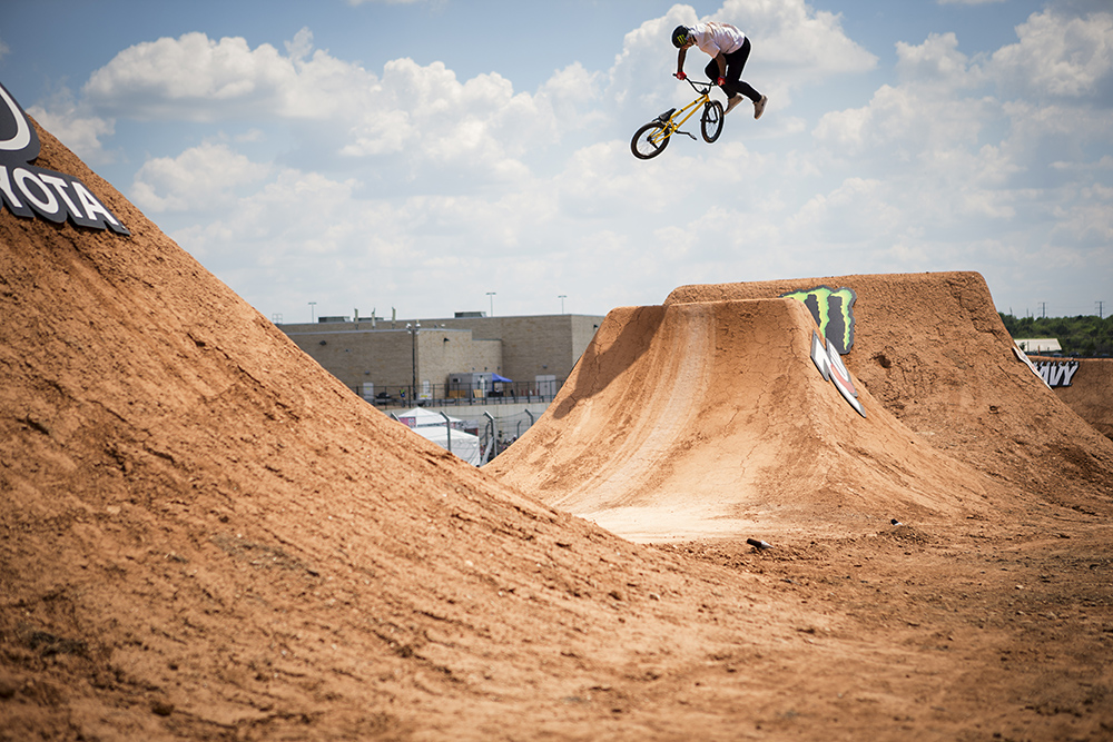 Monster Energys Kyle Baldock Takes Gold in BMX Dirt at XX Games Bmx Dirt