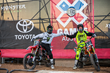 "Monster Energy's Nate Adams and Blake ""Bilko"" Williams at X Games Austin 2015"
