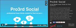 Pixel Film Studios Pro3rd Social Plugin.