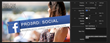 FCPX Pro3rd Social Plugin from Pixel Film Studios.