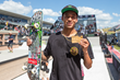 Monster Energy's Nyjah Huston Wins Skateboard Street Gold at X Games Austin 2015 and Wins His Sixth Career X Games Street Medal