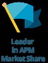 APM Market Share Leader Image Only