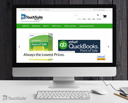 TouchSuite, QuickBooks, software, quickbooks discount, business software, business solutions, payment processing, special pricing, business technology