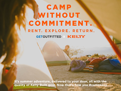 Camp Without Commitment: Rent, Explore, Return.