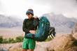 Backpacking gear for rent (lifestyle image for use)