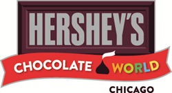 HERSHEY'S CHOCOLATE WORLD Chicago is an interactive retail experience located along the Magnificent Mile shopping strip, behind the famous Water Tower landmark.