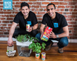Back to the Roots Co-Founders Alejandro Velez and Nikhil Arora